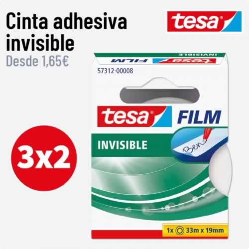 CINTA INVISIBLE TESA
