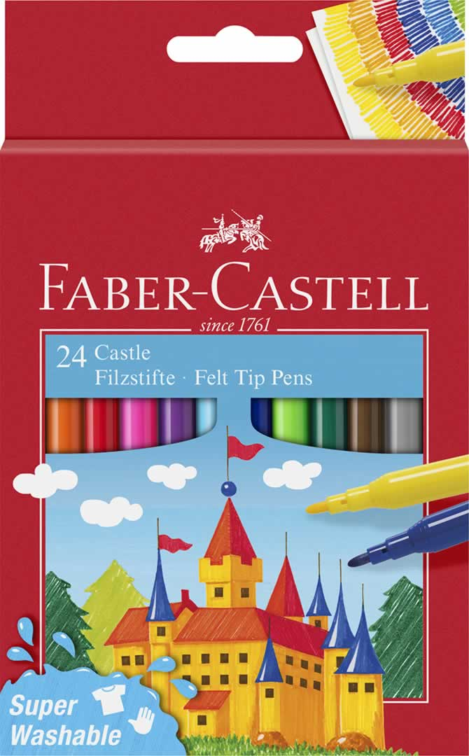 Rotuladores 24 uds. Faber Castell (0102186)