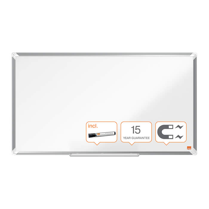 "PIZARRA NOBO PANORAMICA NANO CLEAN? 40"" (900X510 MM.) BLANCO (1905297)"
