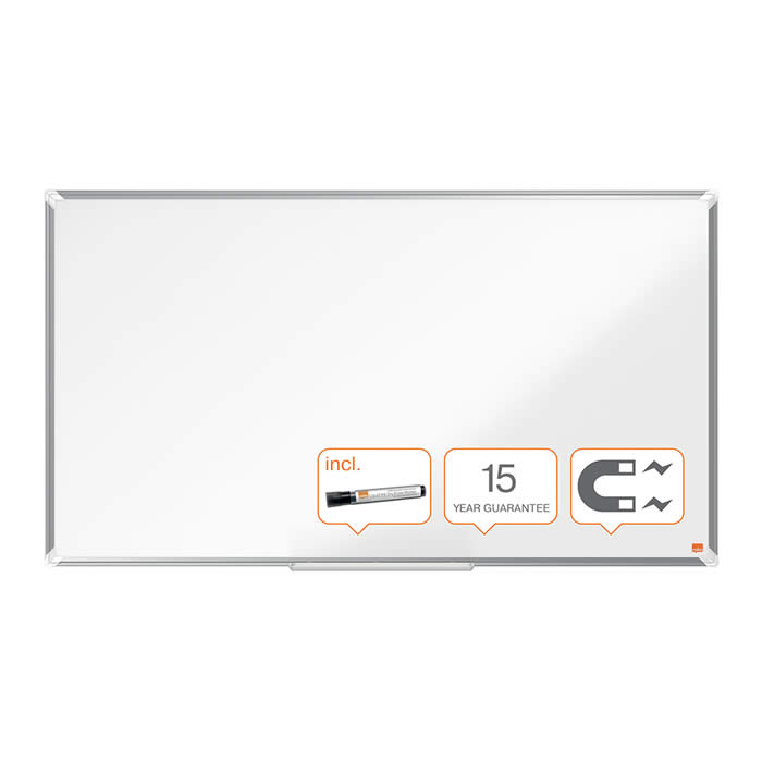 "PIZARRA NOBO PANORAMICA NANO CLEAN? 55"" (1230X700 MM.) BLANCO (1905298)"