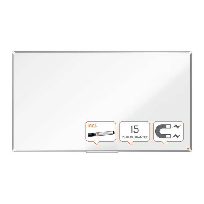 "PIZARRA NOBO PANORAMICA NANO CLEAN? 85"" (1890X1070 MM.) BLANCO (1905300)"