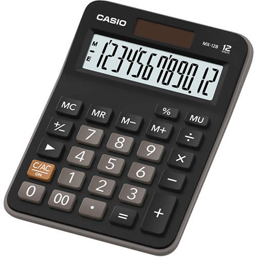 CALCULADORA CASIO 12 DIGITOS MX-12B (MX-12B)