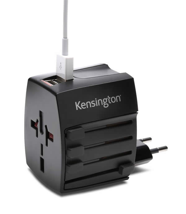 ADAPTADOR PARA ENCHUFE KENSINGTON USB 2,0 (K33998WW)