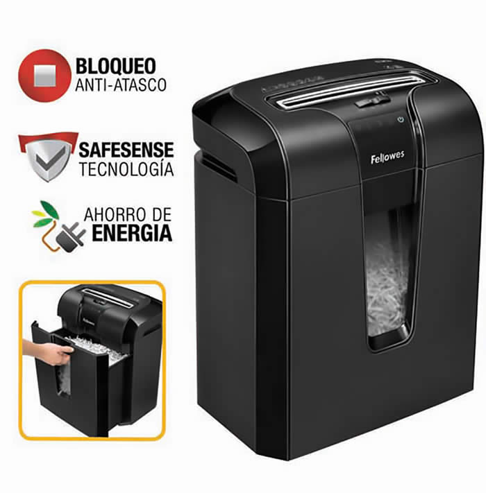 DESTRUCTORA FELLOWES 63CB CORTE EN PARTICULAS (4600101)