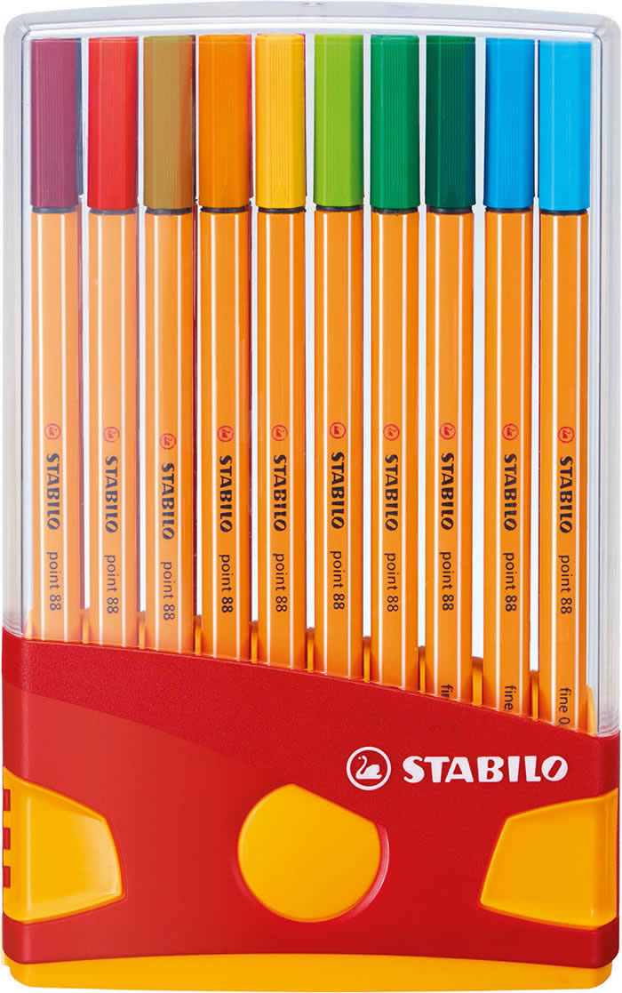 Estuche stabilo point 88 colorparade 20 colores brillantes (8820-03)