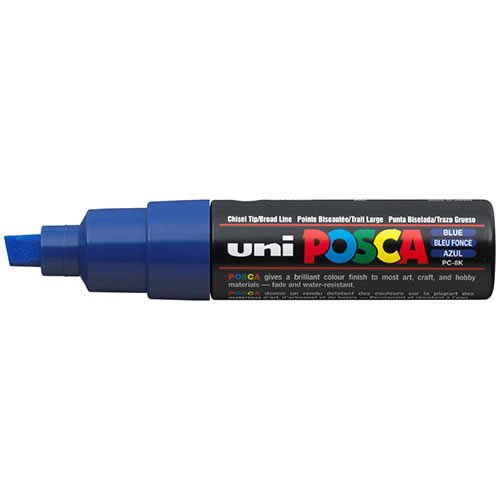 MARCADOR POSCA PINTURA BASE AL AGUA 8,0 MM. PC-8K AZUL (148866000)