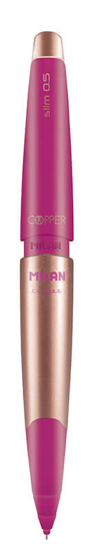 PORTAMINAS CAPSULE SLIM COPPER MILAN 0,5 MM. (185032920)