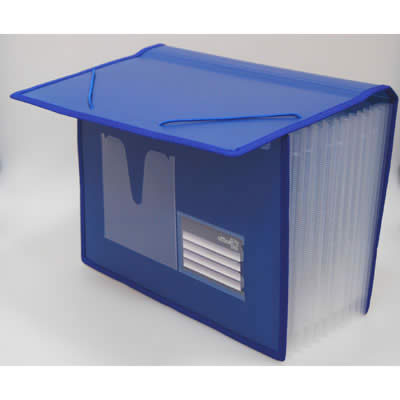 Organizador OFFICE BOX fuelle 12 divisiones Business Class. Tamaño A4
