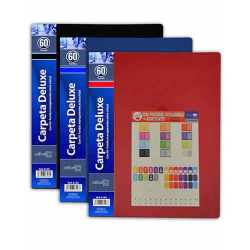 CARPETA O. BOX FLEXIBLE 60 FUNDAS A4 (6126)