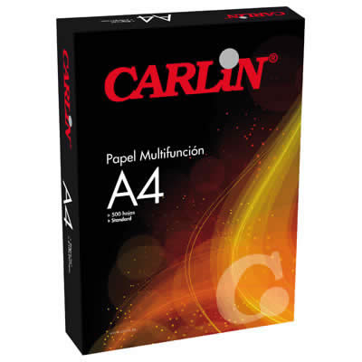 PAPEL CARLIN A4 500 HOJAS STANDARD ECONOMY PAPEL (501101)