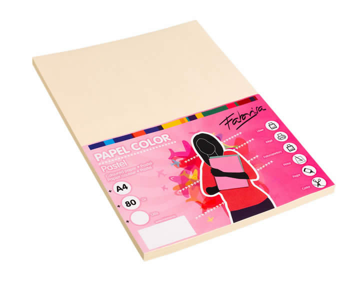 PAPEL PAPERLINE A4 80 GRS. 500 HOJAS MARFIL (15636)