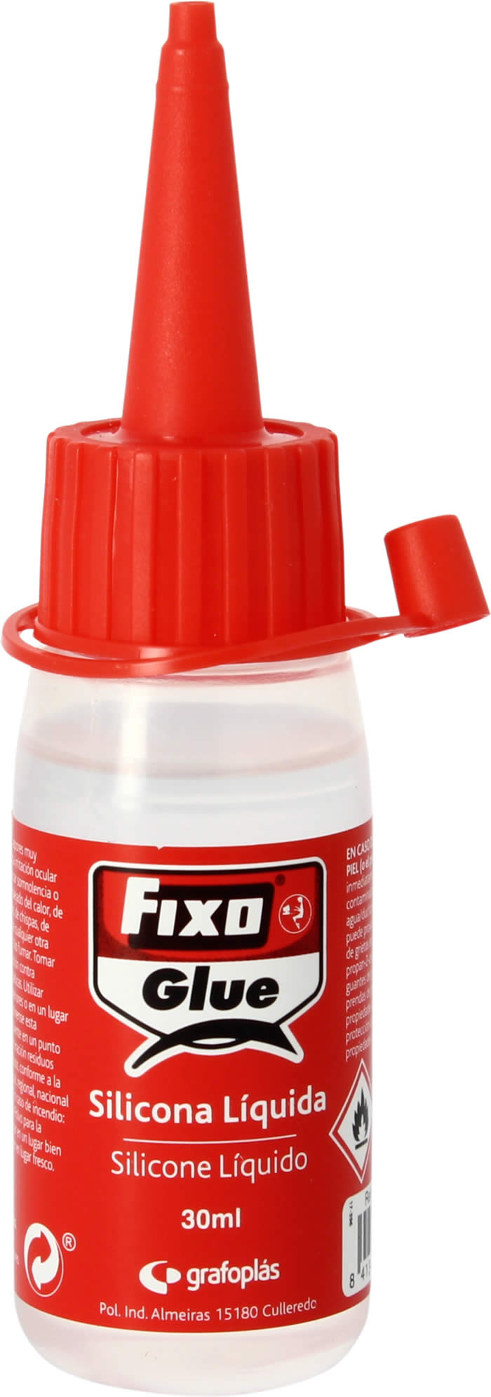 COLA DE SILICONA FIXO 30 ML. (00023000)