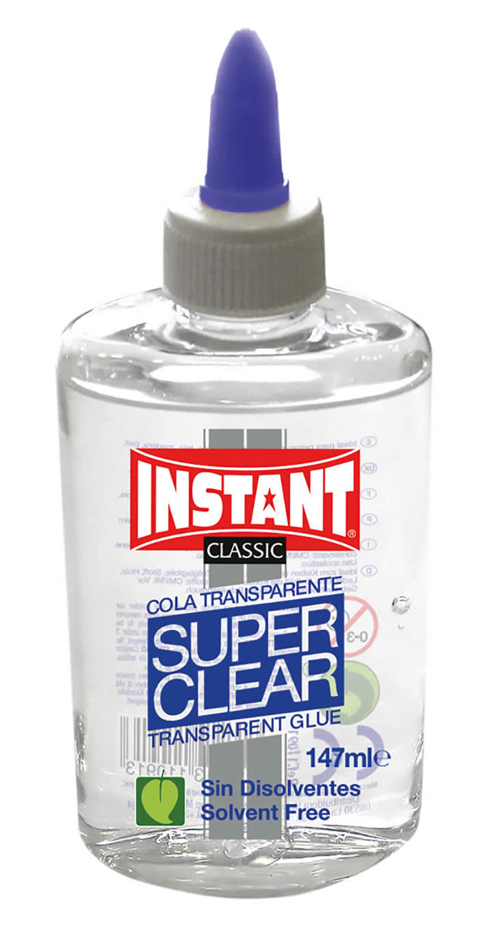 Cola playcolor transparente liquida superclear 147 ml. (11091)