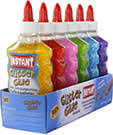 Cola playcolor glitter 180 ml varios colores