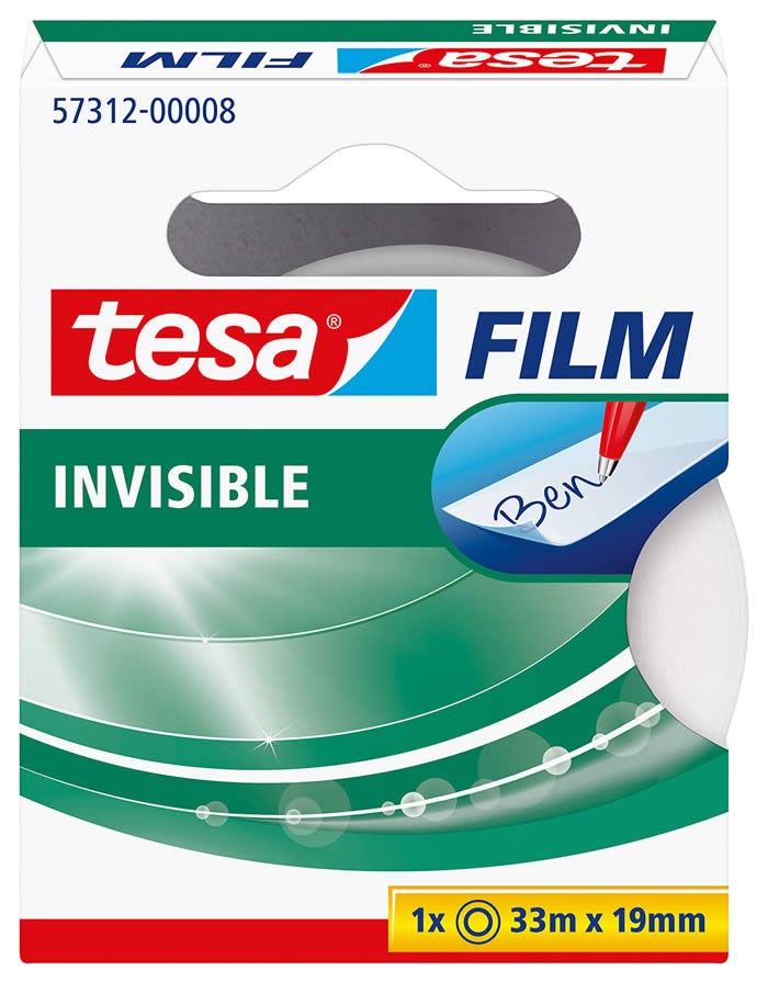 FILM INVISIBLE TESA 33 M.X19 MM. (57312-00008-02)