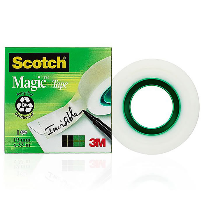 CINTA ADHESIVA SCOTCH MAGIC 33 M.X19 MM. (02068)