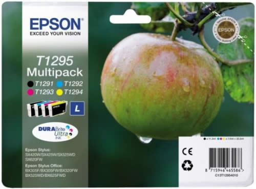 CARTUCHO EPSON 4COL. MULTIPACK C13T12954010