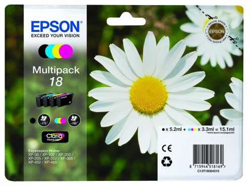 CARTUCHO EPSON EXPRESSION HOME MULTIPAK C13T18064010