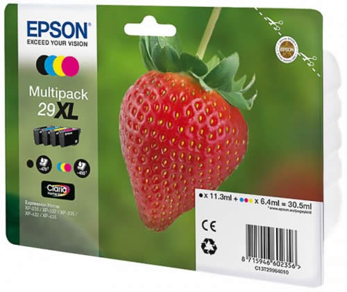 CARTUCHO EPSON HOME 29XL PACK C13T29964010