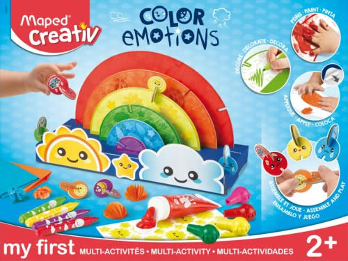 Maped creativ: Primera Infancia Mi Primer Kit de Multiactividades Color Emotions