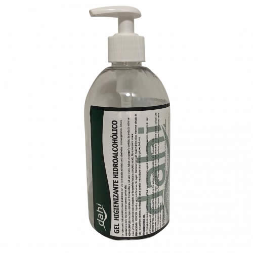GEL HIDROALCOHOLICO 500 ML. CON DOSIFICADOR