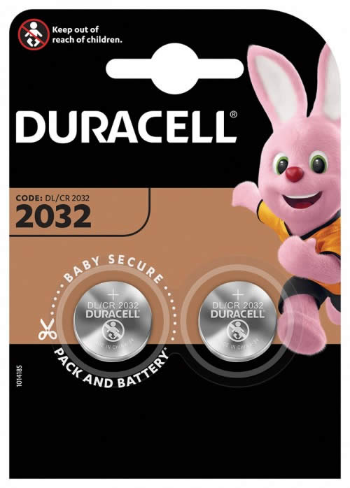 PILAS DURACELL BOTON BLISTER 2 UDS. CR2032 (990353)