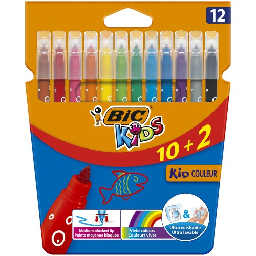 BIC Kids Kid Couleur Rotulador x12