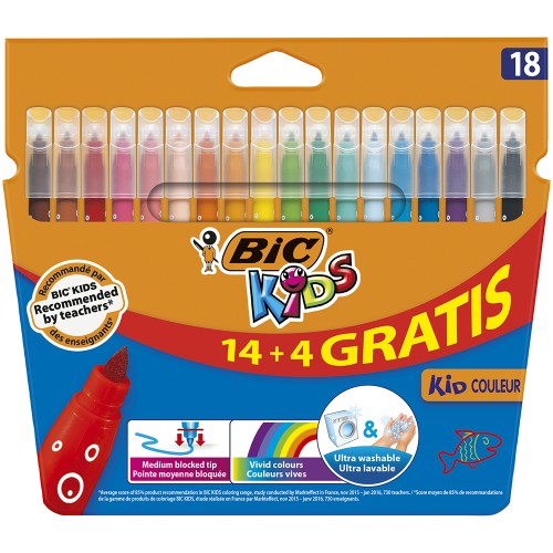 BIC Kids Kid Couleur Rotulador x18