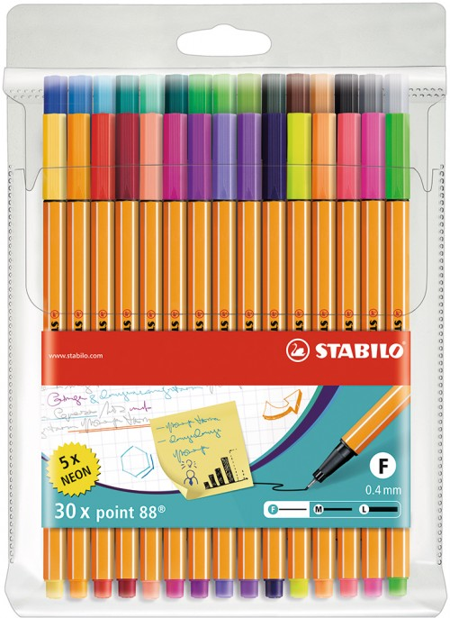 Estuche con 30 colores, ideal para arte terapia, Bullet Journal y Lettering