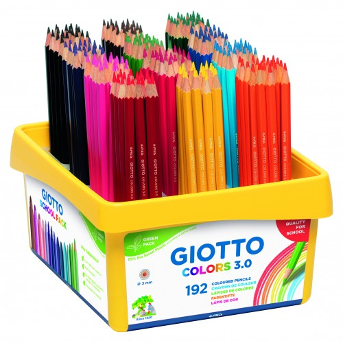 Giotto Colors 3.0 Schoolpack 192 Uds.