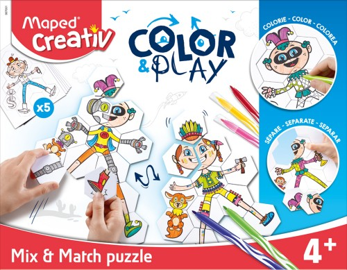 COLOR&PLAY PUZZLE MIX&MATCH