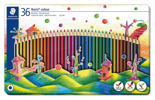 LAPICES DE COLORES NORIS COLOUR 185 36 UDS. STAEDTLER