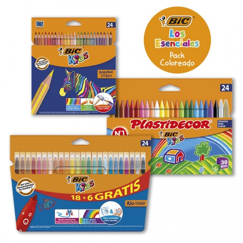 PACK BIC COLOREADO