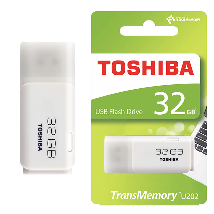 PEN DRIVE 2.0 TOSHIBA 32GB BLANCO (20141)