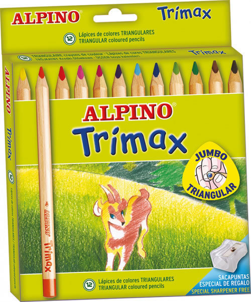 Lápices Alpino triangulares