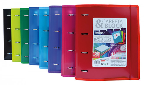 Carpeta & block Colorline