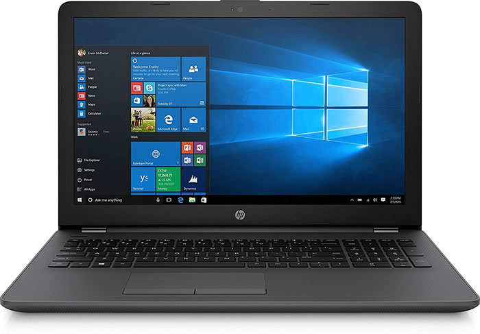 "PORTATIL HP 250 G7 6BP28EA - i3-7020U 2.3GHZ - 4GB - 500GB -15.6""/39.6CM HD - FREEDOS - DARK ASH SI"