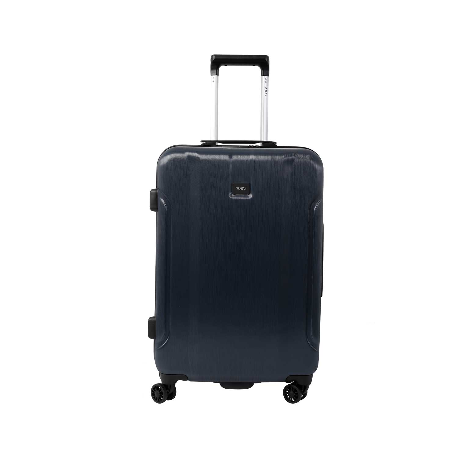Maleta 4 ruedas mediana color azul navy - Nishy