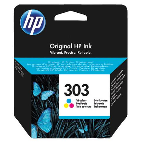 Cartucho de tinta original HP 303 Tri-color