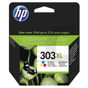 Cartucho de tinta original HP 303XL Tri-color